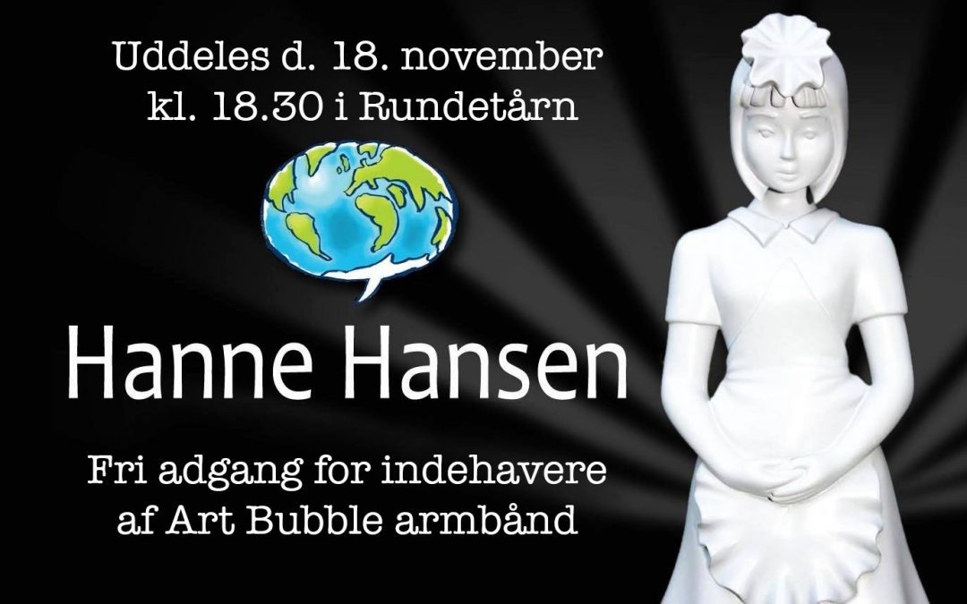 Hanne Hansen Award and Festival Dinner