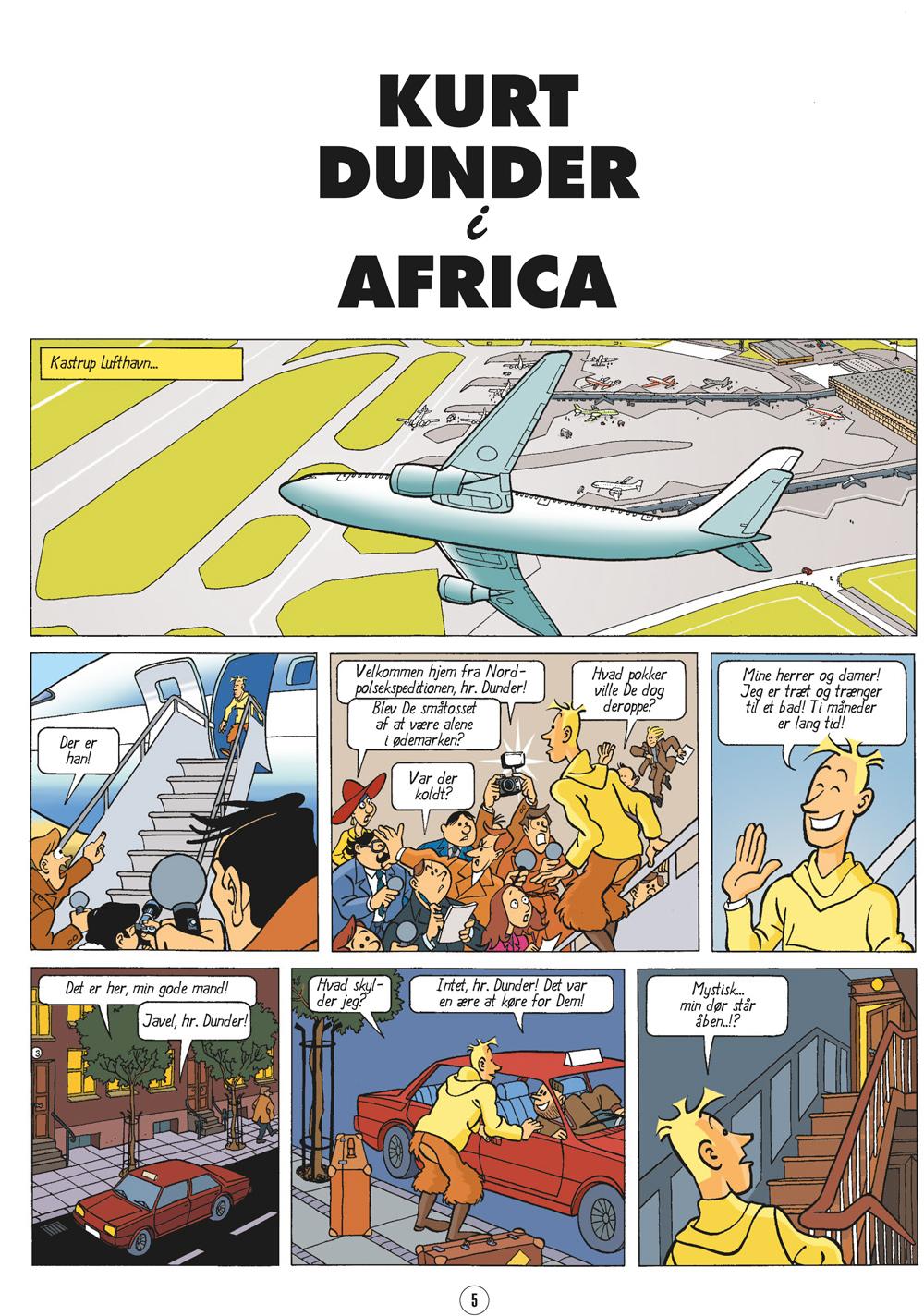 Kurt Dunder i Afrika - første bind