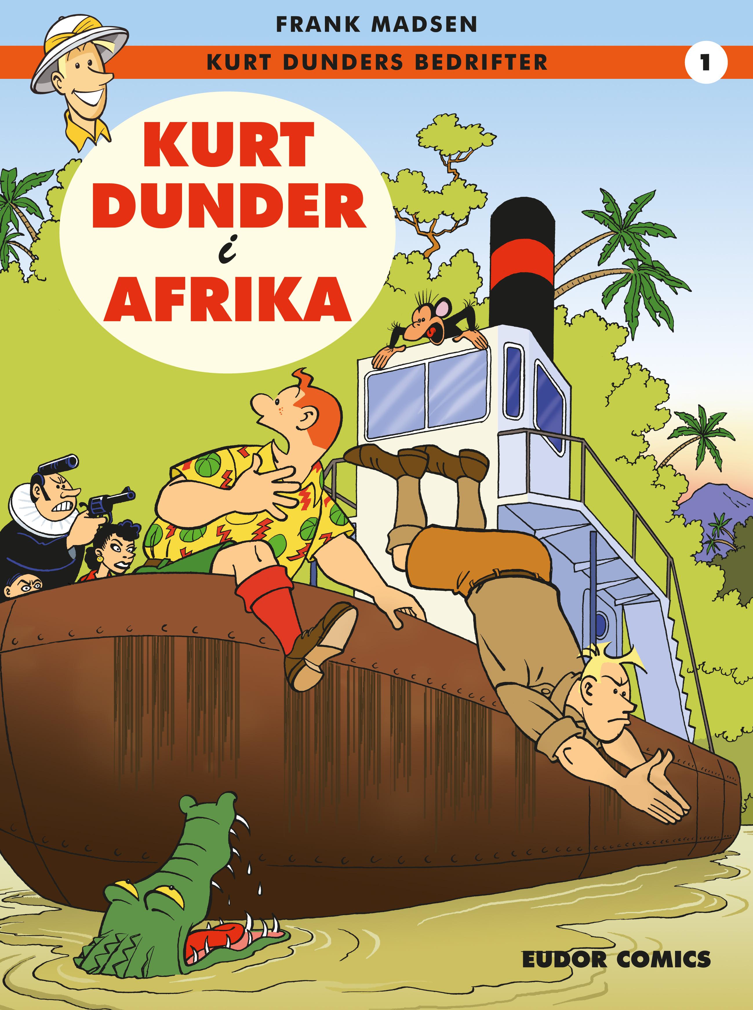 Kurt Dunder i Afrika
