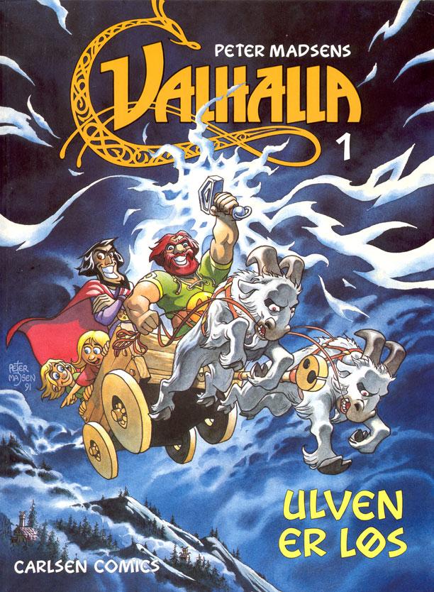 valhalla vol 1 - Ulven er løs
