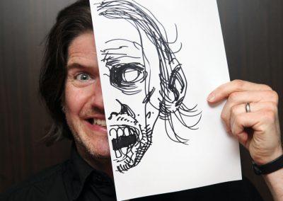 Art Bubble TV: Charlie Adlard om tegneseriens potentiale