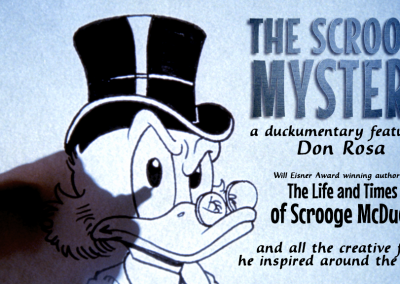 Art Bubble TV: Don Rosa Scrooge Mystery Q&A