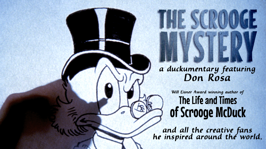 Don Rosa and The Scrooge Mystery