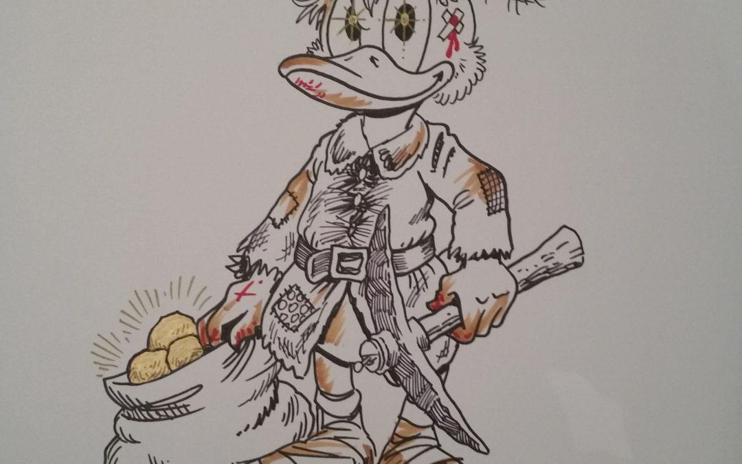 Køb en tegning af Don Rosa