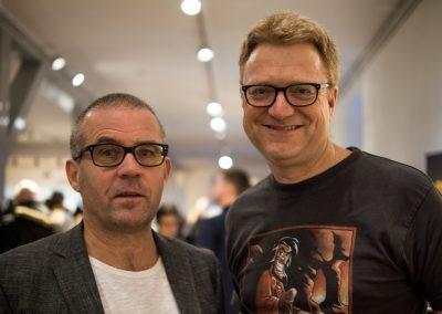 Peter Madsen og Frans Waldorff
