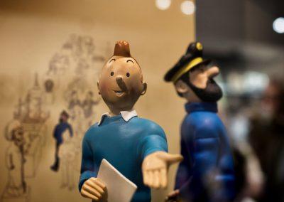 Tintin byder velkommen