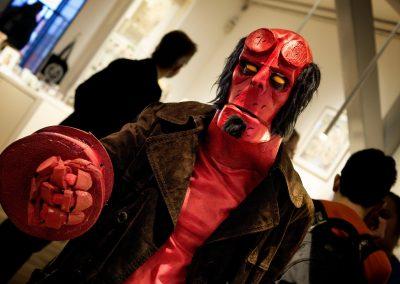 Hellboy cosplay