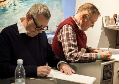Werner Wejp Olsen og Freddy Milton