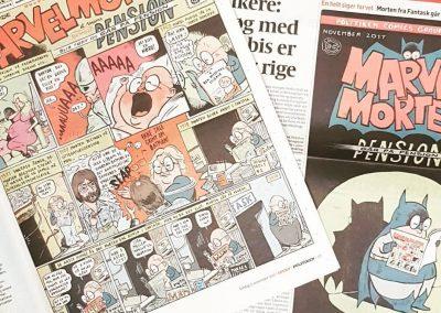 Art Bubble TV: Marvel Morten takker af