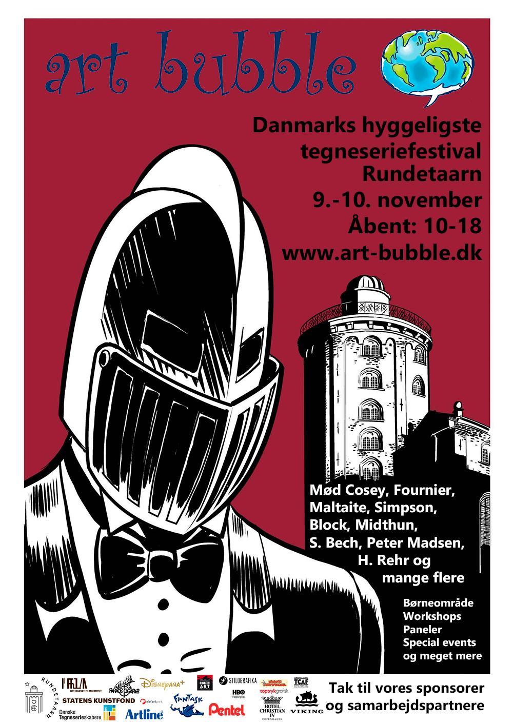 Art Bubble Danmarks hyggeliste tegneseriefestival